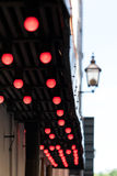 Electric red light. Stock Photography