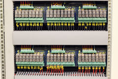 Electric relays Royalty Free Stock Photo
