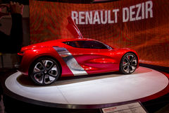 Electric Renault Desiree at the Paris Motor Show Royalty Free Stock Photography