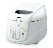 Electric rice cooker isolated  Royalty Free Stock Image