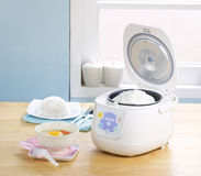Electric rice steamer stock images
