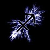 Electric sagittarius Stock Photography