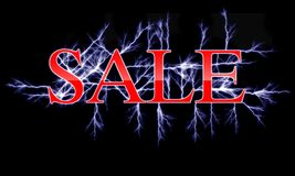 Electric sale Royalty Free Stock Photo