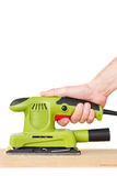 Electric sander Royalty Free Stock Image
