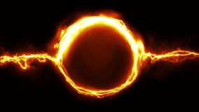 Electric Scifi Plasma Ring Fx Loop