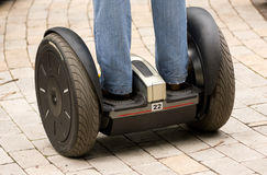 Electric scooter Stock Images