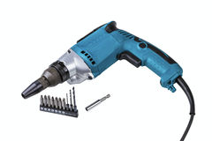 Electric screw-driver Royalty Free Stock Images