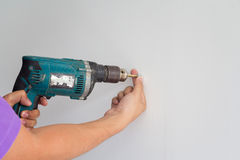 Electric screw driver  Stock Images