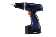 Electric screwdriver Stock Image