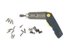 Electric screwdriver Royalty Free Stock Image
