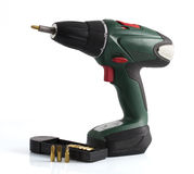 Electric screwdriver Royalty Free Stock Photo