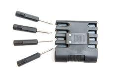 Electric screwdriver kit Stock Image