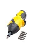 Electric screwdriver Royalty Free Stock Photos