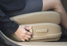 electric seat Royalty Free Stock Image