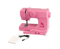 Electric sewing machine Royalty Free Stock Photos