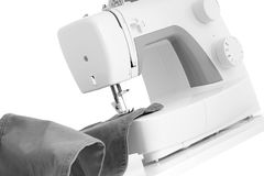 Electric sewing machine. Royalty Free Stock Photos