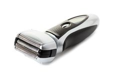 Electric shaver. On white background Royalty Free Stock Image