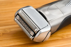 Electric shaver close-up Stock Photo