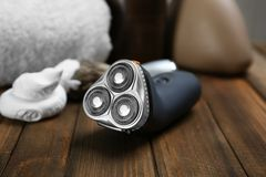 Electric shaver for man Royalty Free Stock Photo