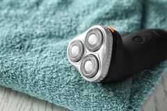 Electric shaver for man Stock Image