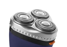 Electric shaver for man. On white background Stock Image