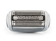 Electric shaver. On white background, isolated close-up Stock Photos