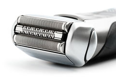 Electric shaver on white background Stock Photos