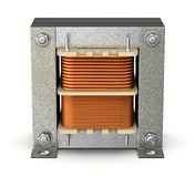 Electric shell transformer Royalty Free Stock Photo