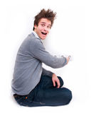 Electric shock Royalty Free Stock Photo