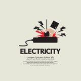Electric Shock. Electric Shock Vector Illustration EPS10 Stock Photos