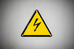 Electric sign Stock Image
