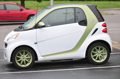 Electric Smart Car Royalty Free Stock Image