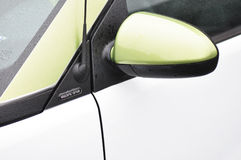 Electric Smart Car Detail Stock Photos