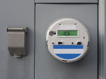 Electric smart meter Royalty Free Stock Images