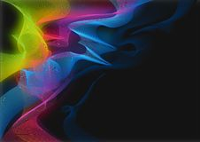 Electric Smoke Background Royalty Free Stock Photos