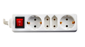 Electric socket Stock Image