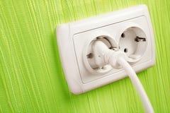 Electric socket Stock Image
