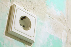 Electric socket Stock Photos