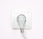 The electric socket Stock Photos