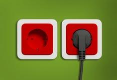 Electric socket Stock Photo