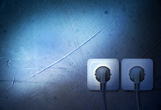 Electric socket Stock Photography