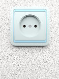 Electric socket for connection Stock Photos