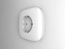 Electric Socket outlet Stock Photo