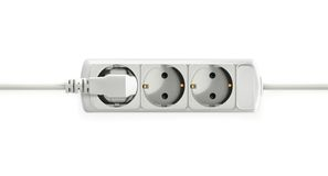 Electric socket vector object Stock Photos