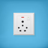 Electric socket Royalty Free Stock Image