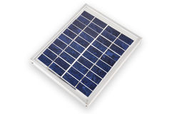Electric solar panel. With isolated background Stock Images