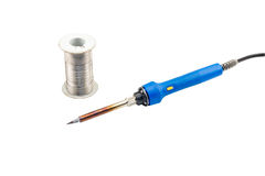 Electric Soldering Iron Royalty Free Stock Photos