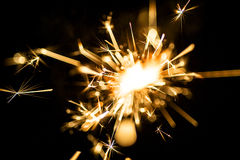 Electric sparklers Royalty Free Stock Photo