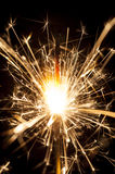 Electric sparklers Royalty Free Stock Image