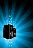 Electric SpeakerBox Royalty Free Stock Images